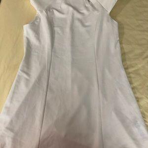 Ivory/white ASOS mini dress
